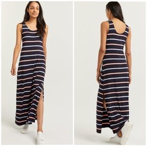 Reitmans | Sleeveless Striped Maxi Dress